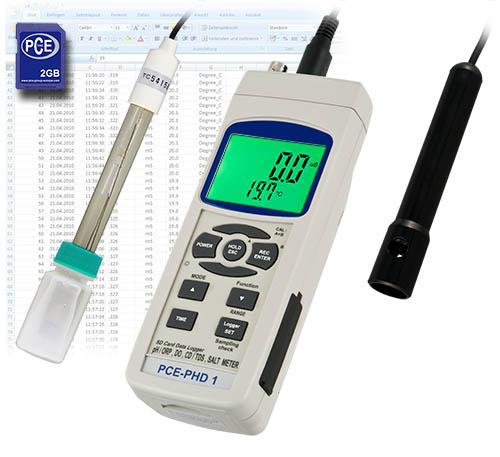 pH-meter & konduktometer pHD-1